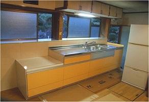 食器乾燥機専用の収納キャビネット改造