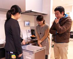 ⑤住まいコンシェルジュがご案内する岡山ショールームツアー(2人分昼食付)